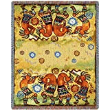 Pure Country Koko Quartet Blanket Tapestry Throw