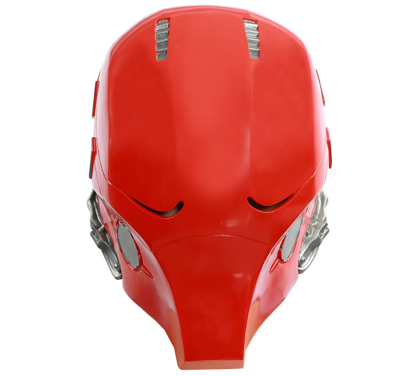 Updated Red Hood Mask PVC Helmet Full Head Adult Halloween Collectable Xcoser V2