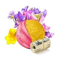 Cash Money Bath Bombs | Jumbo Size 7.5oz | $2-$2500 Inside | Guaranteed Rare $2...