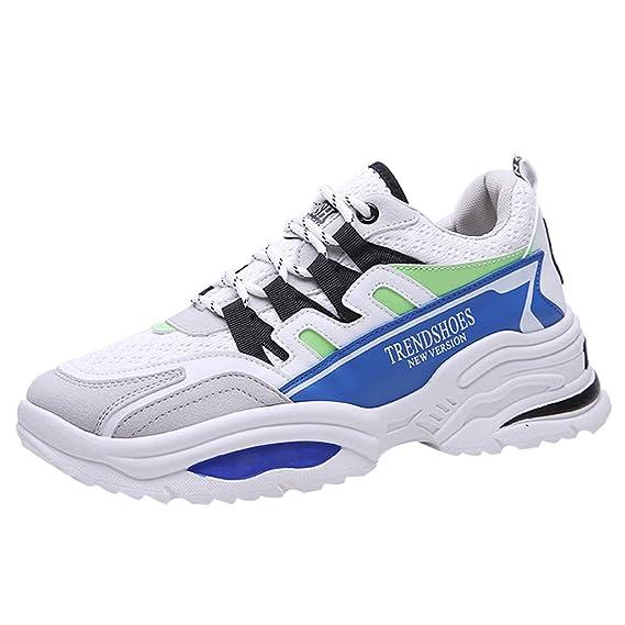 MXJEEIO Zapatillas Hombres Deporte Running Sneakers Ligeras Casual Moda de Malla para Hombre de Transpirable Fashion Fly Knit Zapatos para Correr imnasio Deportivas Padel Transpirables Casual 39-44: Amazon.es: Ropa y accesorios