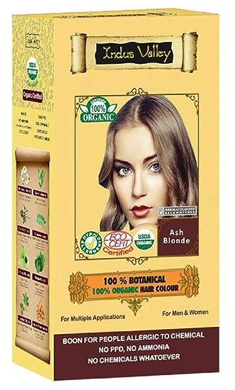 100% Organic 100% Botanical Natural Herbal Hair Dye Colour For Men ...