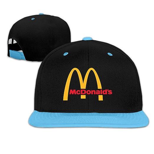 ebf6acf8402 Adjustable Kids McDonalds Casual Snapback Hats Trucker Baseball Hat Cap  Outdoor Sun Caps for Tollder Boys