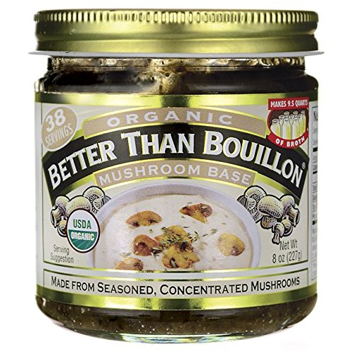 Better Than Bouillon Base, Mushroom, 8 Ounce by Better Than Bouillon