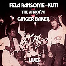 Fela Live With ...(Lp W/Digi)
