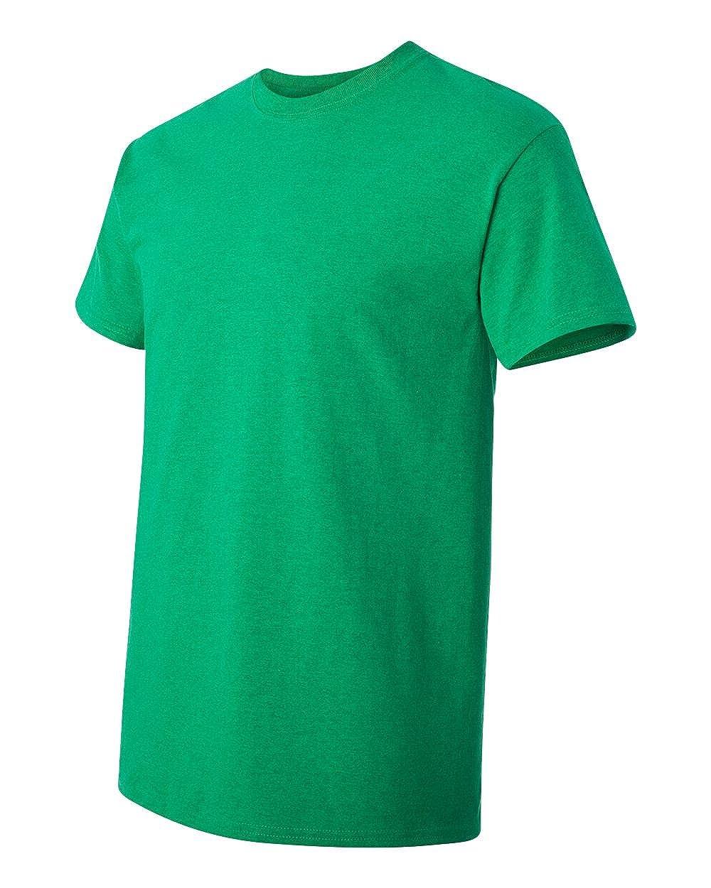 Gildan Mens Seamless Double Needle Preshrunk T-Shirt