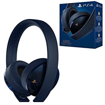 5bb2c51a3f5 PlayStation Gold Wireless Headset 500 Million Limited Edition ...