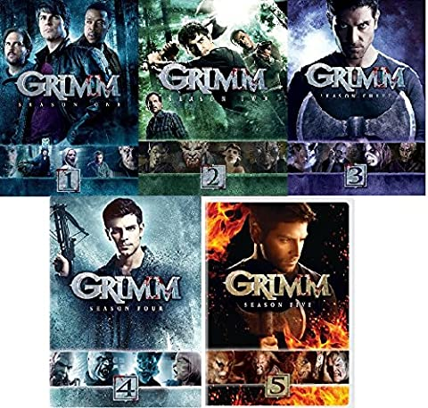 Grimm Complete Seasons 1-5 Collection (Grimm Dvd Season 4)