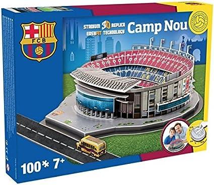Nanostad FC Barcelona Camp Nou Stadium 3D Puzzle by Nanostad