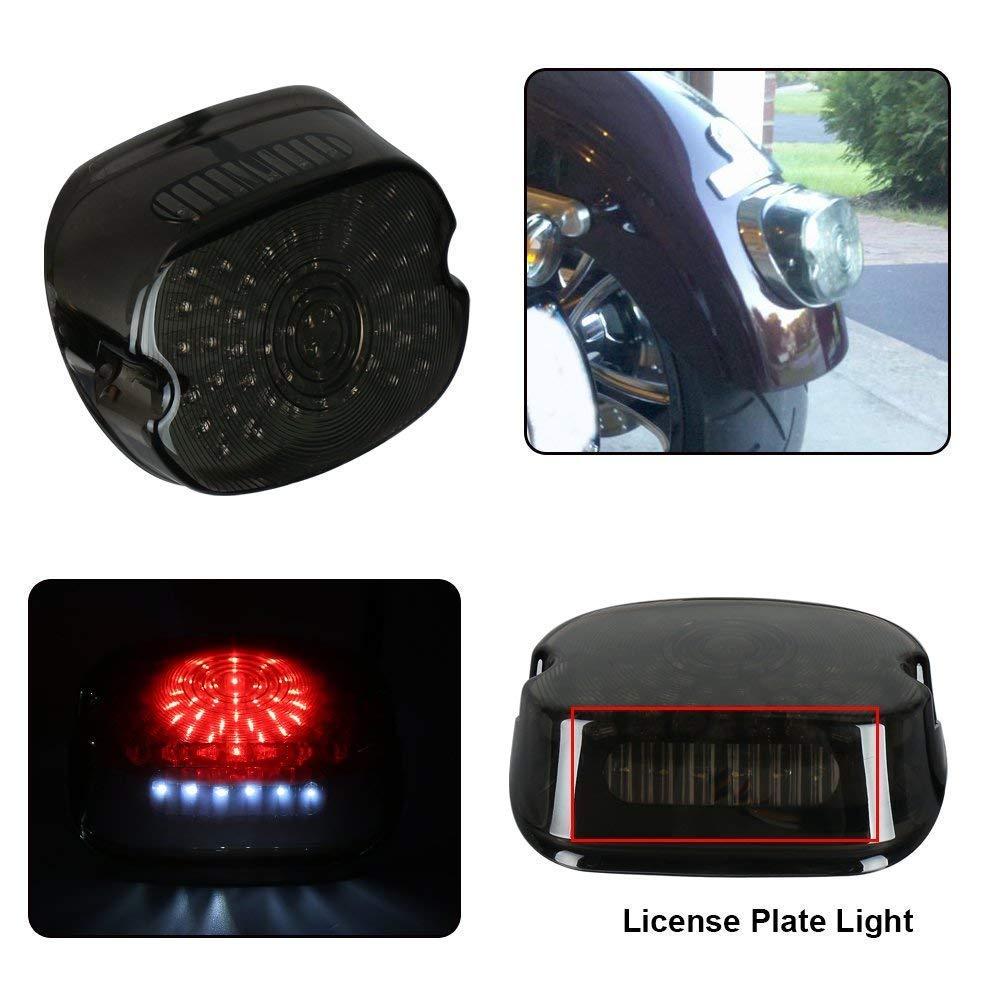 Fanale posteriore a LED per moto con fanale posteriore multifunzione per Harley-Davidson