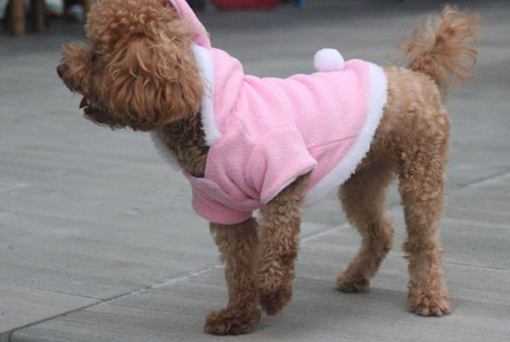 JUNGEN Pet inverno autunno vestiti cucciolo di cane gatto abbigliamento maglione carino coniglio Cosplay con cappuccio felpe abbigliamento