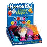 Raymond Geddes Monster Pals Eraser Toppers, 24 Pack (68966)