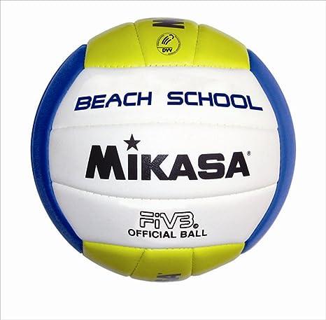 MIKASA Beach 5 School - Balón de Voleibol para Exterior, Color ...