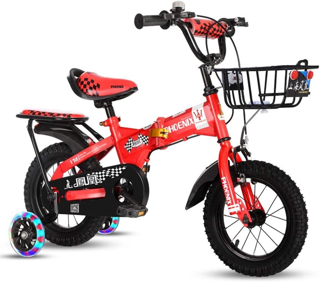 Xiaoping Bicicleta para niños 3-6-7-8-10 años Niña niño Bicicleta ...