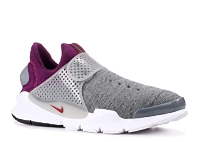 detailed pictures 85159 38d49 NIKE Mens Sock Dart Tech Fleece (Grey Heather, 10)
