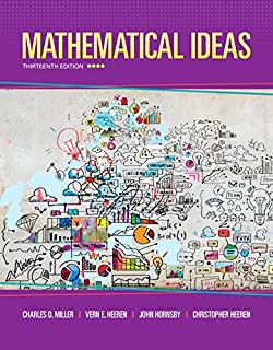 Mymathlab student access kit hall h pearson education mathematical ideas 13th edition standalone book fandeluxe Image collections