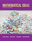 img - for Mathematical Ideas (13th Edition) - Standalone book book / textbook / text book