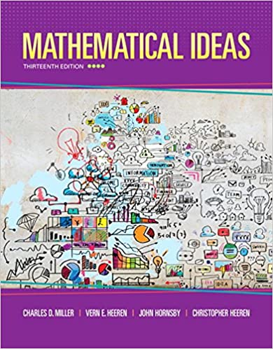 Mathematical Ideas 13th Edition Standalone Book Charles