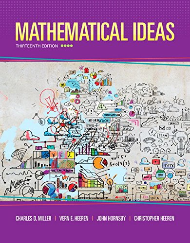 321977076 - Mathematical Ideas (13th Edition) - Standalone book