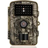 Distianert 12MP 720P Infrared Game&Trail Camera Deer Camera Low Glow Night Vision 65ft Waterproof IP56 with 34pcs 850nm IR LEDs 1 Year Warranty