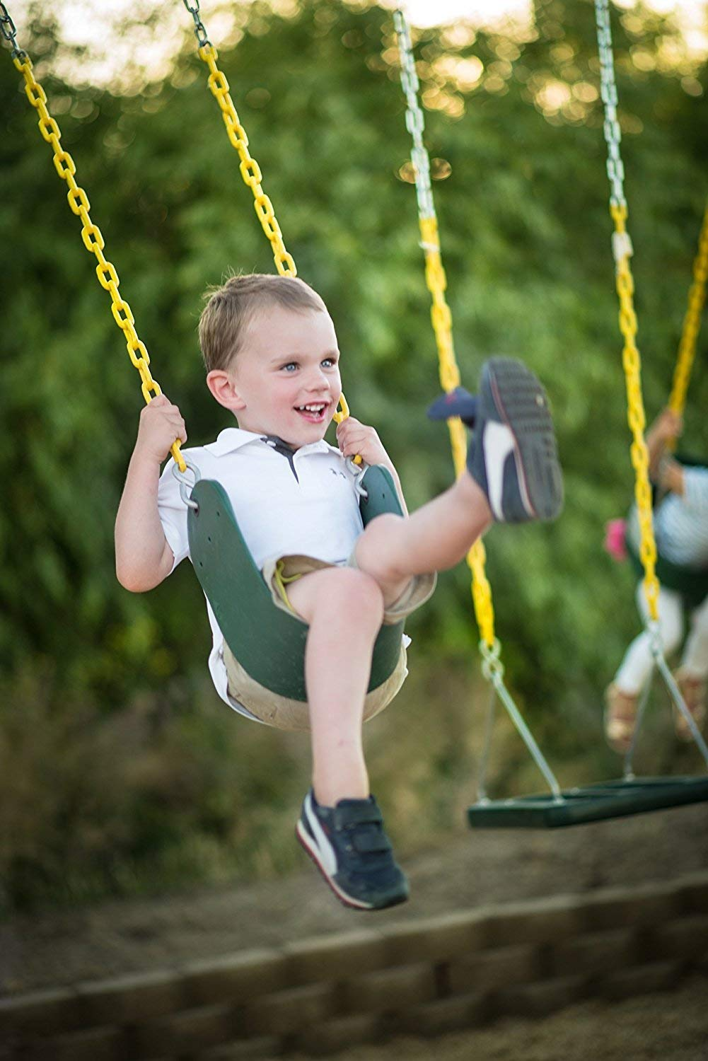 High Back Full Bucket Swing and Heavy Duty Swing Seat - Swing Set Accessories by Squirrel Products (Image #5)