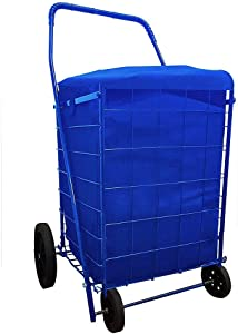 SHOPPING CART Privacy LINER Insert WATER PROOF in 6 Colors (Liner Only) (Blue)