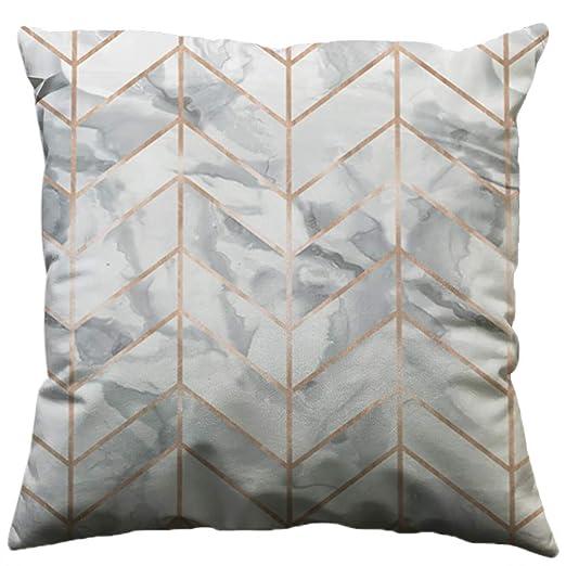 sanfashion Funda de cojín geométrica minimaliste Lin, Regalo ...