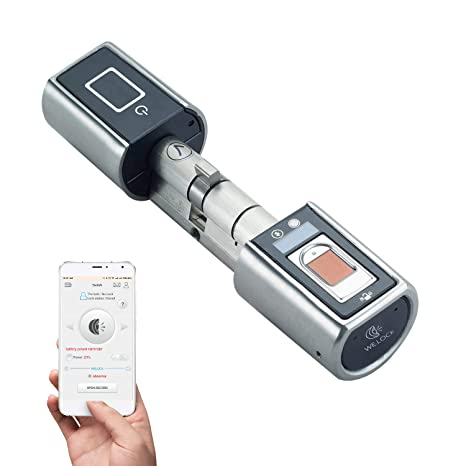 Welock Biometrischer Fingerabdruck Und Bluetooth Smart