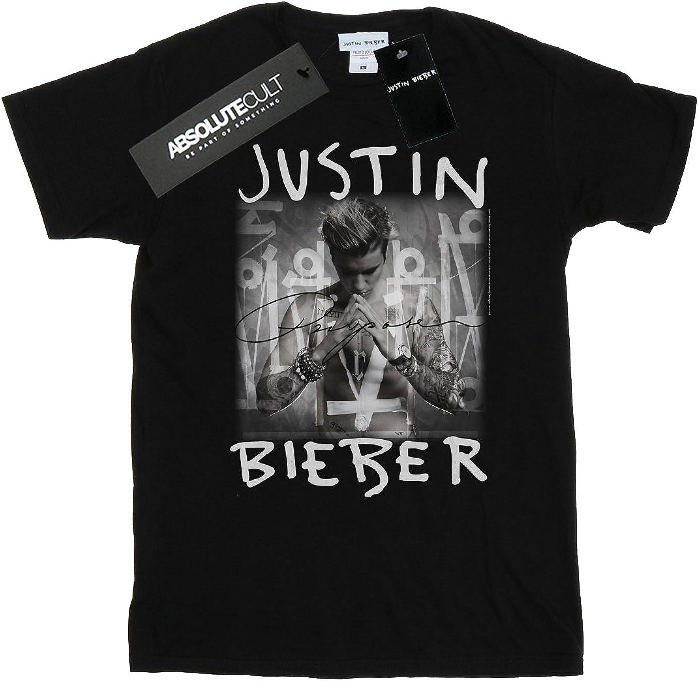 Justin Bieber Girls Purpose Album Cover T-Shirt