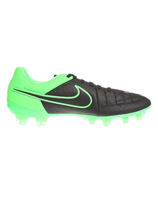Nike - Zapatillas de Running de Cuero para Hombre Dark Grey/Wolf Grey-White 9: Amazon.es: Deportes y aire libre