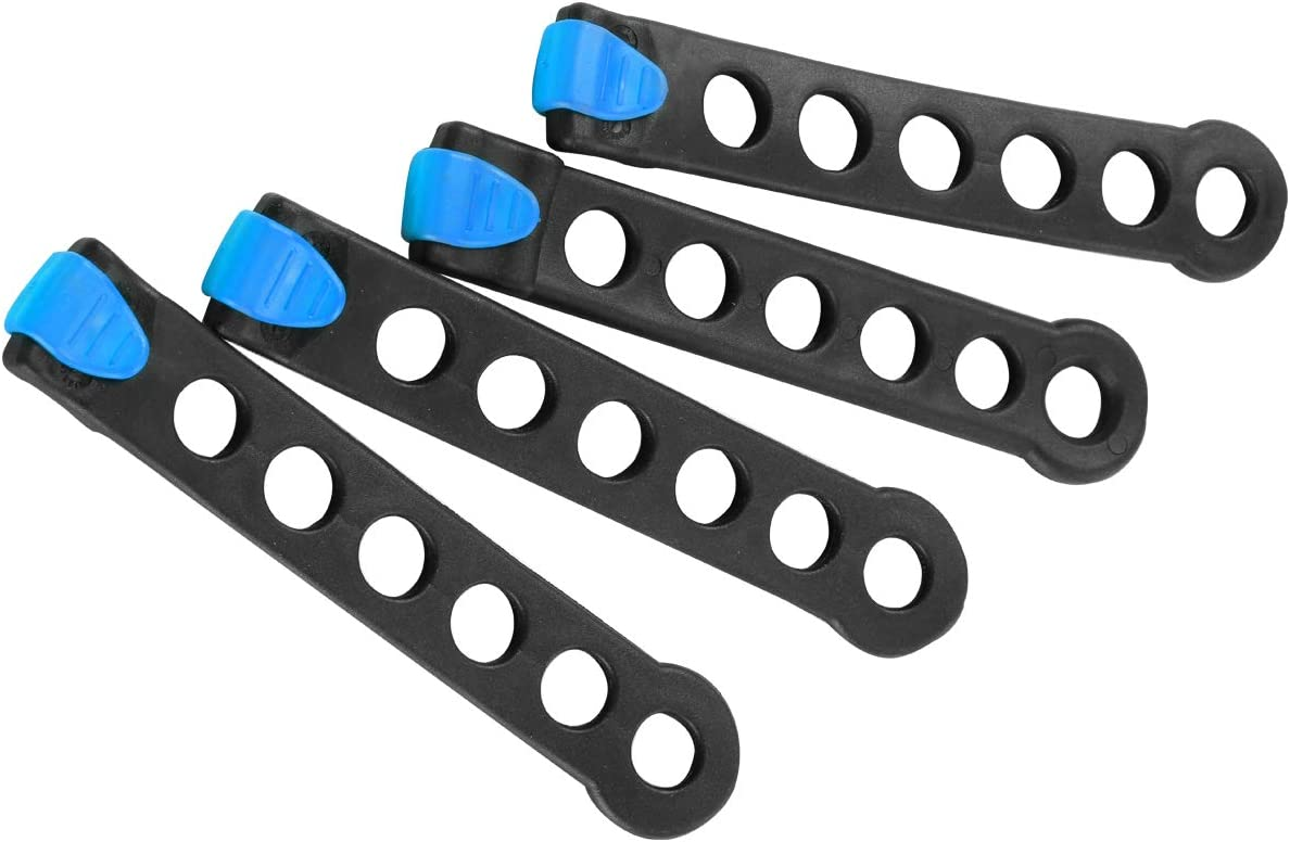 IKURAM Rubber Strap for Bike Rack (Pack of 4)
