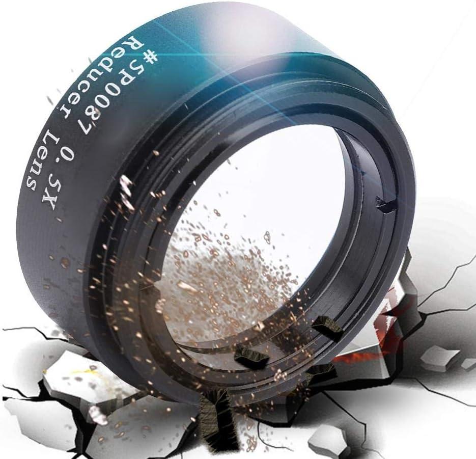 Mugast 1.25 Inch Focal Reducer Lens 0.5X Focal Reducer Thread M28 Lens Accessory for Telescope Eyepiece