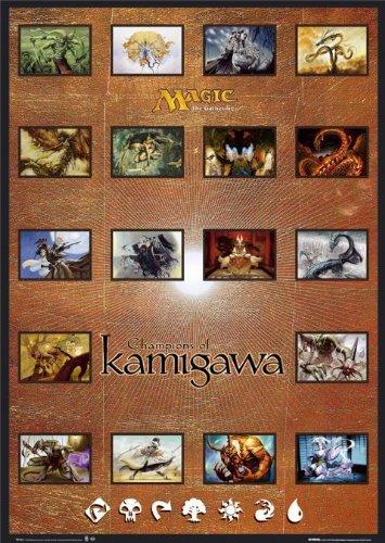 Champions Of Kamigawa Poster Magic The Gathering