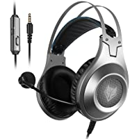 Gaming Headset for Xbox One, PS4, PC, Controller, NUBWO Wired Gaming Headphones with… photo