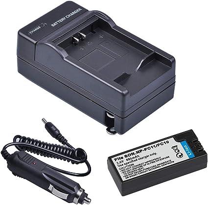 NP-FC11 NP-FC10 Batería Cargador Para Sony Cyber-shot DSC-P12 DSC-P2 DSC-P3 DSC-P5