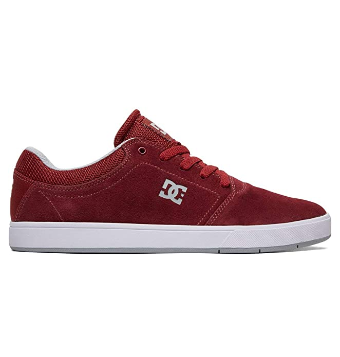 DC Shoes Crisis Sneakers Skateboardschuhe Herren Erwachsene Burgunderrot (Burgundy)