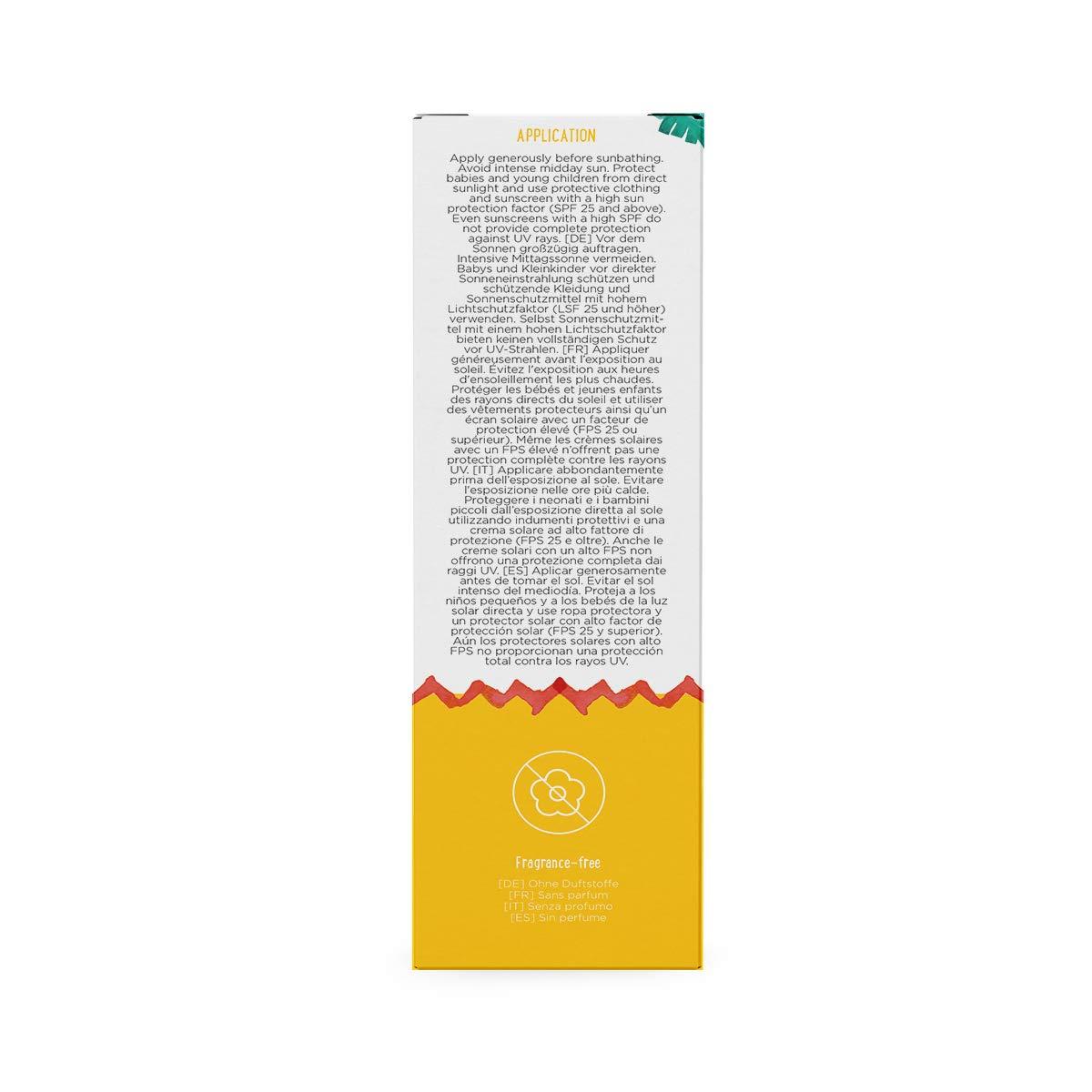 Marca Amazon- Mama Bear - Crema solar para bebés FPS 50 (Alta protección UVA/UVB)- 4 tubos - 4x100ml: Amazon.es: Salud y cuidado personal