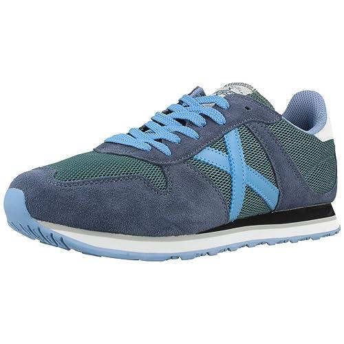 ZAPATILLA DEPORTIVA MUNICH MASSANA 119 CELESTE 41 Azul: Amazon.es: Zapatos y complementos