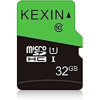KEXIN 32GB Tarjeta de Memoria Micro SDHC, Class 10, 75MB/s de Alta Velocidad TF Tarjeta, C10, U1, Micro SD Tarjeta para…