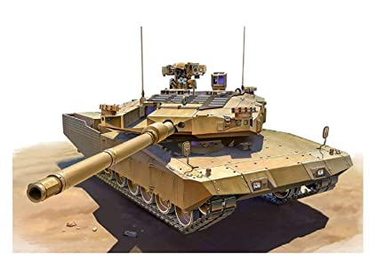 a785d68f54c7 Amazon.com  Tiger Model 1 35 Leopard II Revolution II MBT German ...