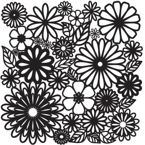 Making Memories Blossoms Paper Flowers - CRAFTERS WORKSHOP TCW-157 Templates 12-Inch by 12-Inch, Flower Frenzy