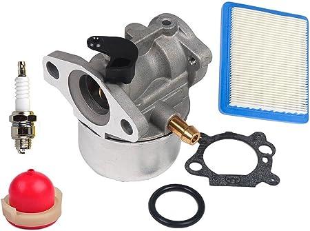 Kit Carburetor 790821 799868 497347 Set Air filter Spark plug Primer bulb