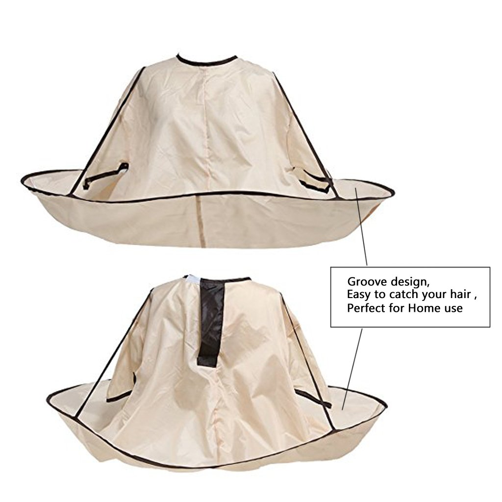 EWIN(R) 1PCS New Style Hair Cutting Cloak Umbrella Cape Salon Barber Hairdressing Gown Family For Adult (ADULT SIZE) by ewinever (Image #2)