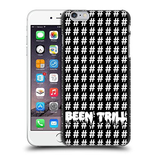 Official Been Trill White Hashtags Patterns Hard Back Case for Apple iPhone 6 Plus / 6s Plus