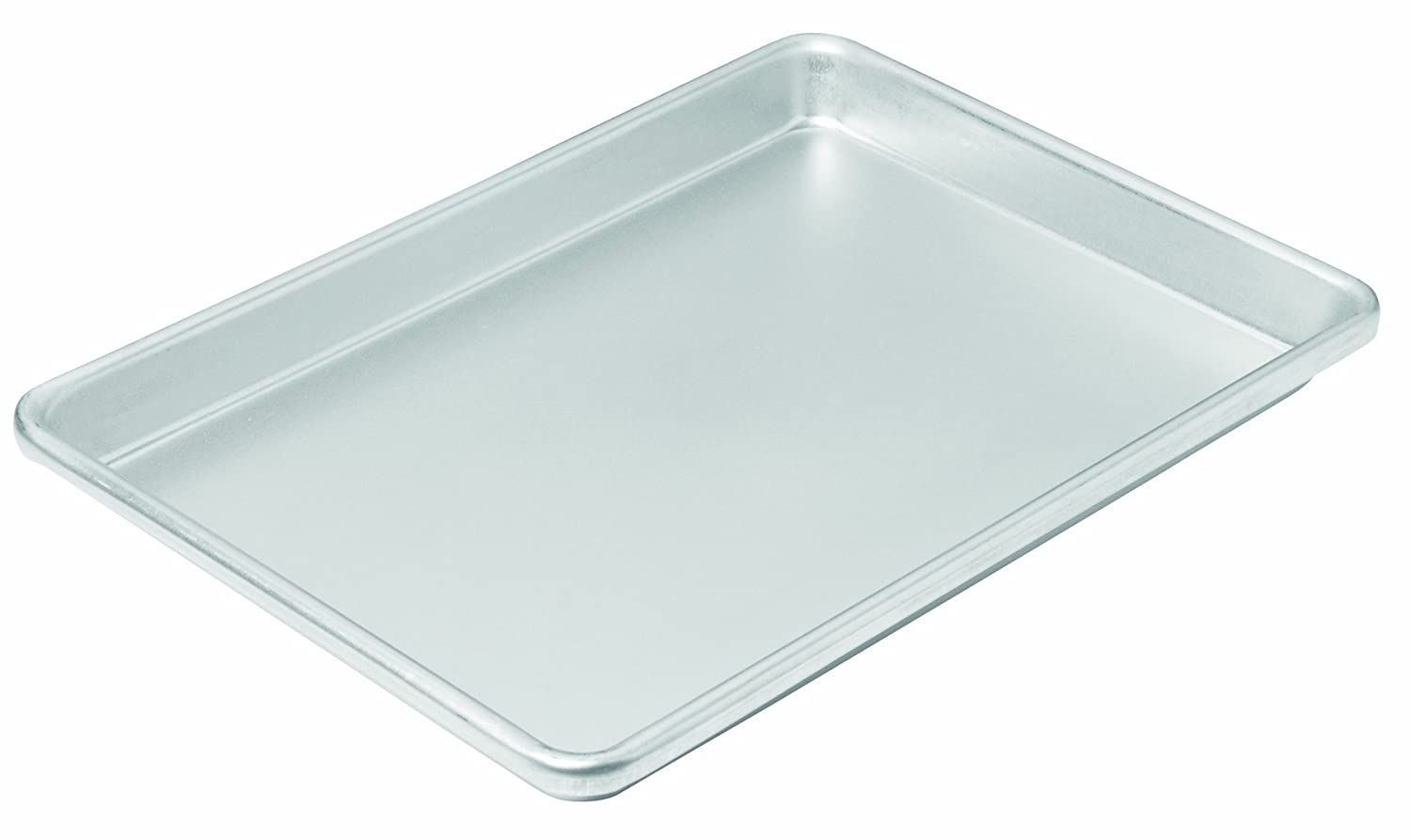 Chicago Metallic 49129 12-1/4 by 8-3/4-Inch Commercial II Traditional Uncoated Small Jelly Roll Pan
