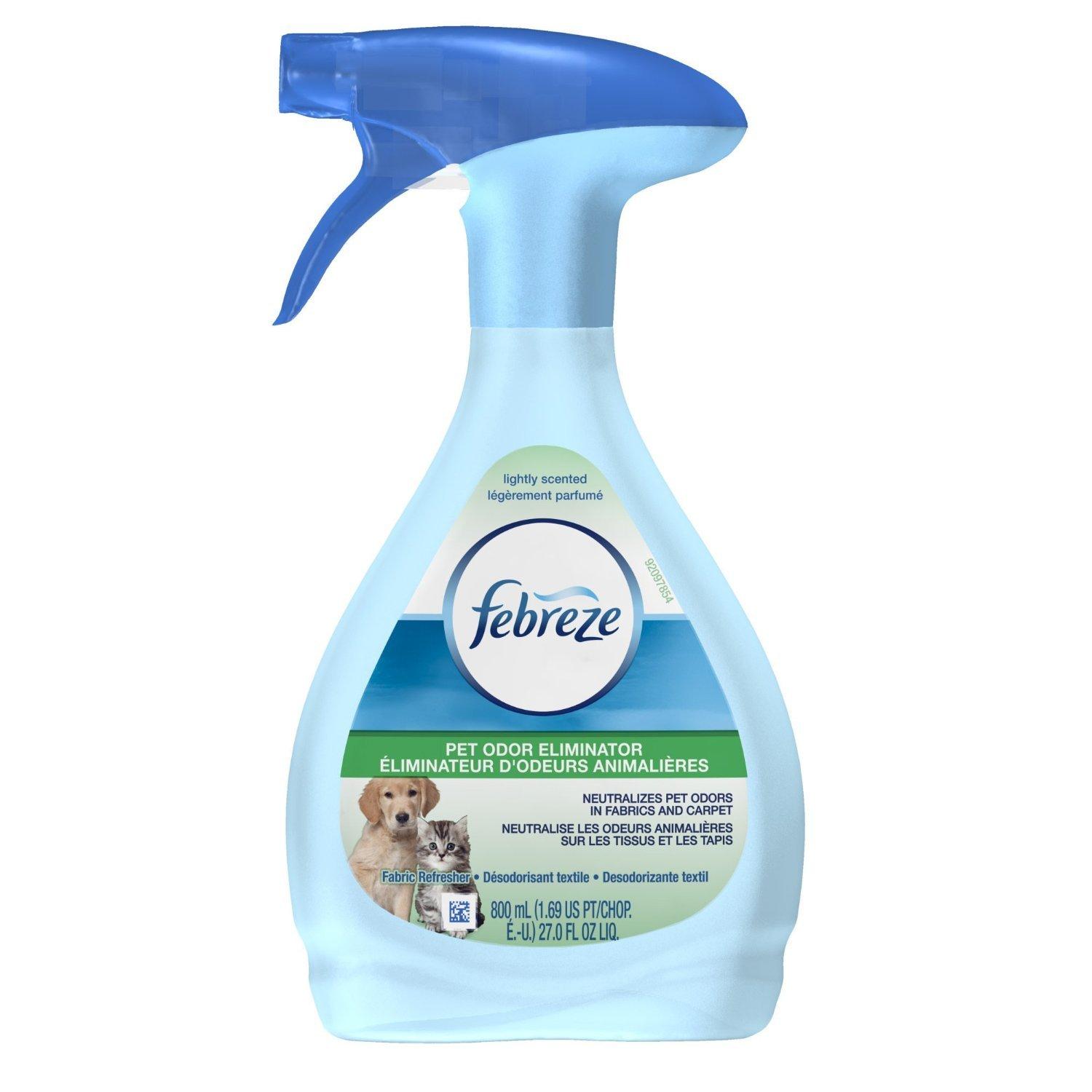 Febreze Fabric Refresher, Pet Odor Eliminator, 27 oz-2 Pack