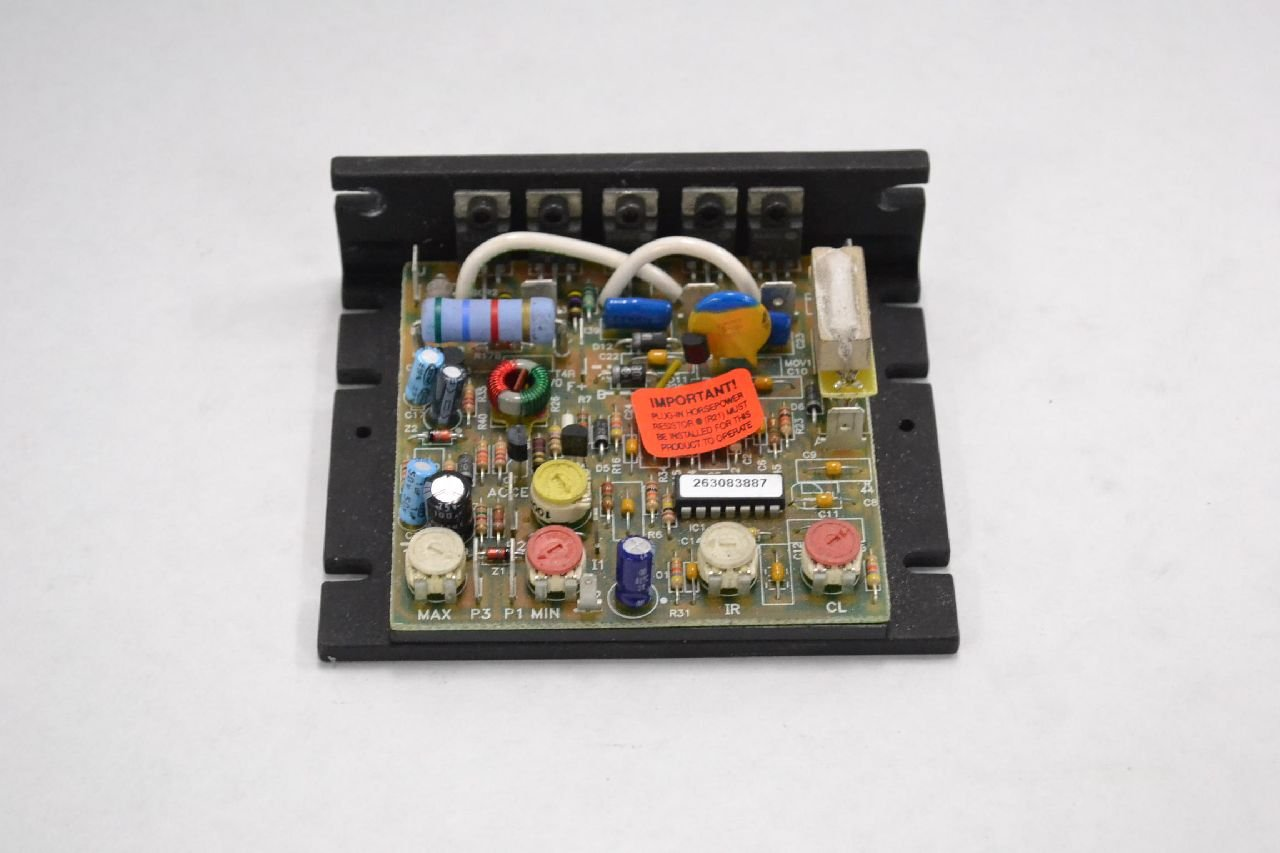 KB ELECTRONICS KBIC-120 9429A VARIABLE SPEED DC 115V-AC MOTOR DRIVE B333984