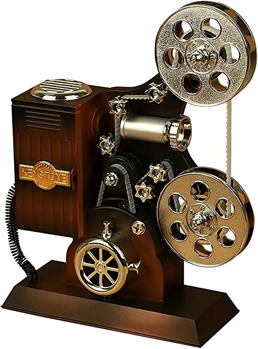 POPgifts Movie Projector Plastic Music Box, Plays Tune for Elise