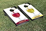 Wine Themed Cornhole Game Set Cornhole Cab Bags Blanc