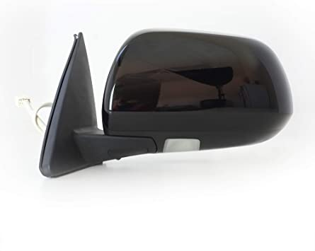 2008-2013 Toyota Highlander Left Side Mirror Heated Without Puddle Lamp
