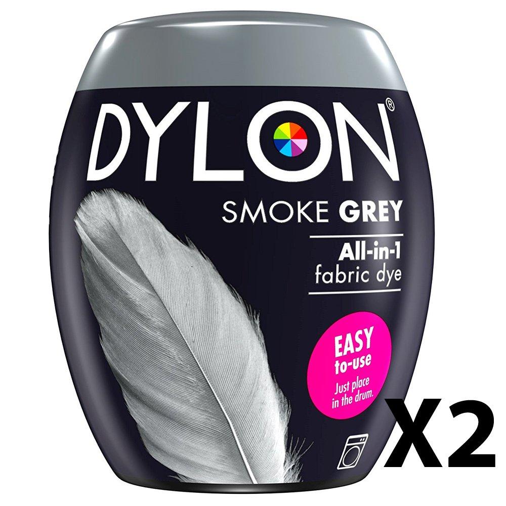 2 x Dylon máquina Dye Pod, humo gris, 350 g: Amazon.es: Hogar